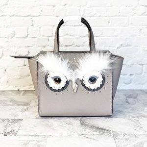 NEW Kate Spade star bright owl mini satchel